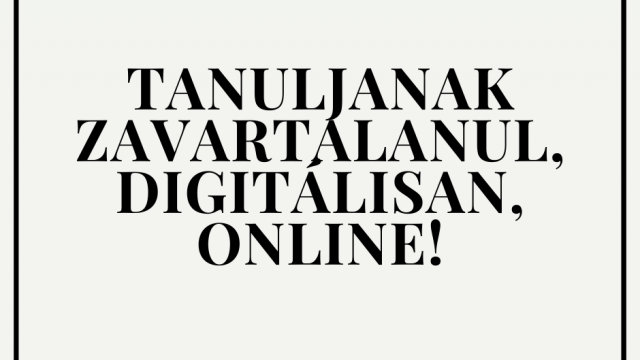 Digitális tanulás