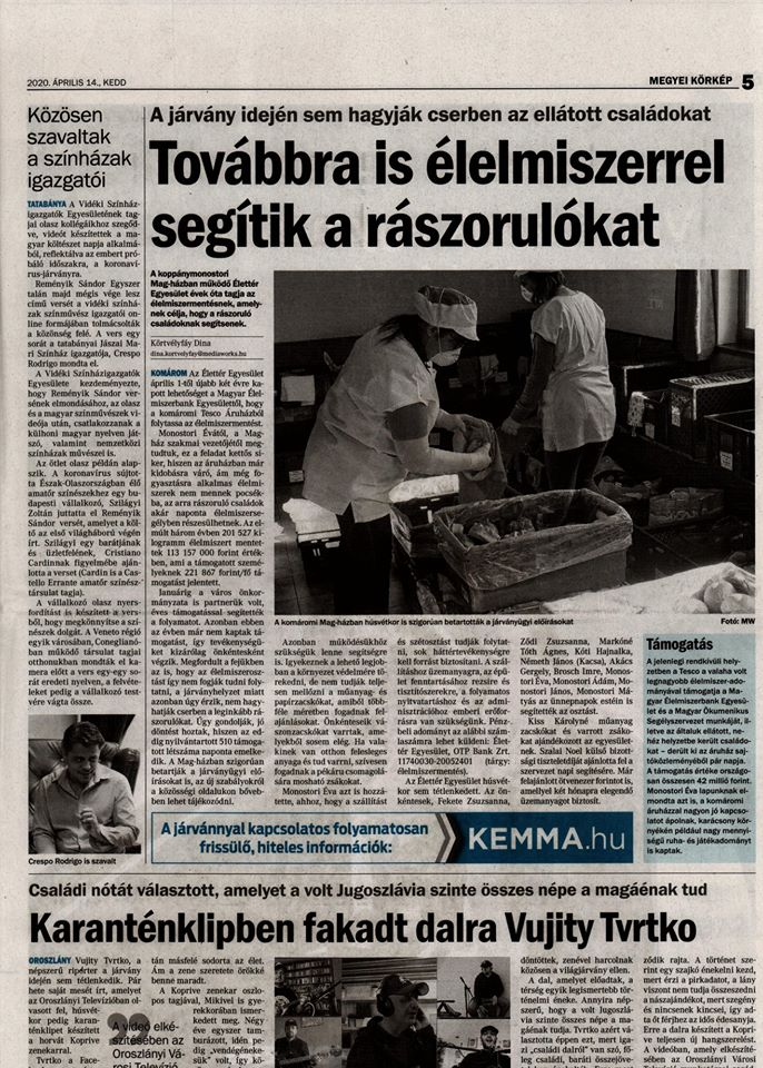 Újságcikk